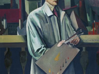 Vilko Gecan - Autoportret s tvornicom