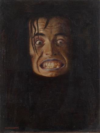 Miho Marinković - Meduza, 1908., 100 vrhunskih djela hrvatskih umjetnika iz fundusa Narodnog muzaja u Beogradu, 2007.