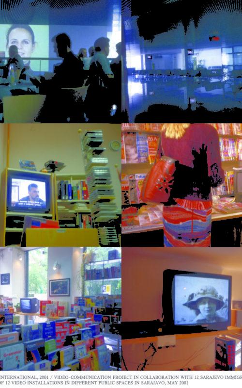 Kristina Leko - Sarajevo, Int_setup_all, Gledati druge, 2009