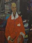 Ivo Dulčić: Portret Koste Strajnića, 1965.